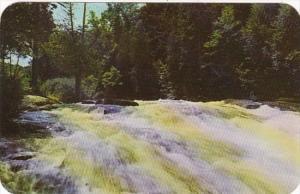 New York Adirondack Mountains Buttermilk Falls Long Lake