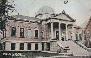 BRANTFORD , Ontario , 1900-10s; Public Library, version 2