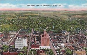 Minnesota Rochester Birds Eye View OF Rochester