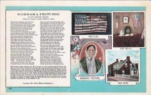Maryland Frederick Barbara Fritchie Mutiple