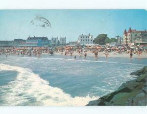 Pre-1980 VICTORIAN HOUSES ALONG THE BEACH Cape May New Jersey NJ d7891