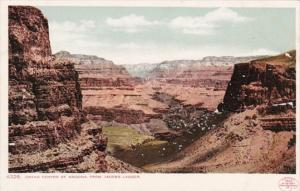 Arizona Grand Canyon From Jacob's Ladder Detroit Publishing