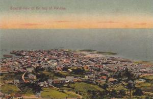 General view of the bay of Panama, 1900-1910s