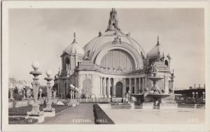 California Postcard Panama–Pacific International Exposition RPPC FESTIVAL HALL