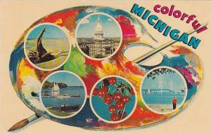 5-Views, The Wolverine State, Colorful Michigan, 40-60s