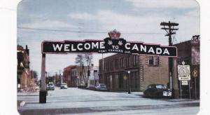 Gateway to Fort Frances and the Northwestern Ontario Lakeland,  Fort Frances,...