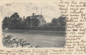 WESTERLY, Rhode Island, 1910; Smith House, Quarry Hill, Oldest House in Westerly