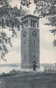 New York Chautauqua Miller Memorial Bell Tower On Chautauqua Albertype