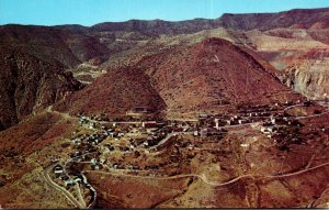 Arizona Jerome Aerial VIew Of America's Largest Ghost City