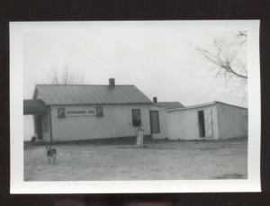 REAL PHOTO PHOTOGRAPH WARRENSBURG MISSOURI BOWMAN GROCERY STORE SCENE
