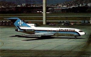 Airplanes Cruzeeiro do Sul SA Boeing 727-C3 At Rio De Janeiro International A...