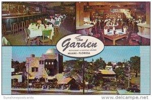 Florida Miami The Garden Restaurant and Cocktail Lounge
