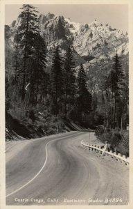RP: CASTLE CRAGS , California , 1930-40s