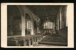 St Peter's Chapel In Tower Of London - Unused Corner Creases