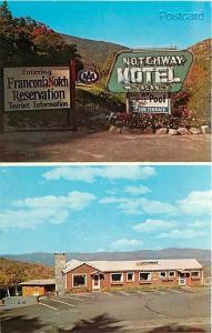 NH, Franconia Notch, New Hampshire, Notchway Motel, Dexter Press No. 32204-C