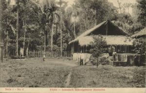 indonesia, SUMATRA ATJEH ACEH, Native School Building Meunatha (1912)