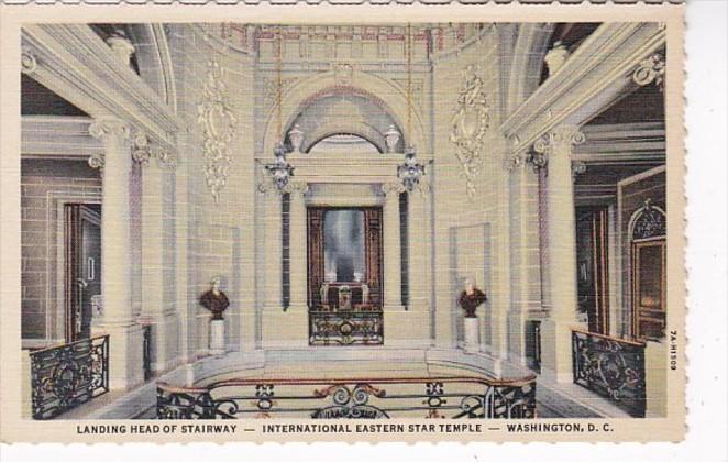 Washington D C Landing Head Of Stairway International Eastern Star Temple Cur...