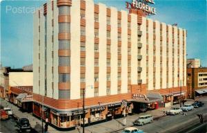 MT, Missoula, Montana, Hotel Florence, H.S. Crocker No. SB-7