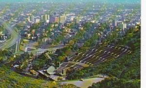 California Los Angeles Aerial View Hollywood Bowl