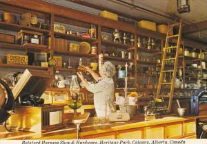 Canada Botsford Harness Shop & Hardware Heritage Park Calgary Alberta