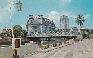 SINGAPORE , 50-60s ; Queen Elizabeth Walk & General Post Office