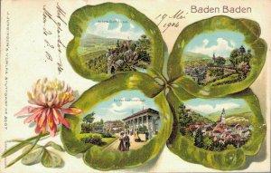 Germany - Baden Baden - Litho - 03.41
