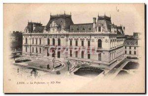 Postcard Old Lyon Prefecture