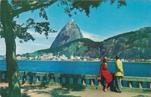 Brazil Rio de Janeiro Sugarloaf Mountain Pan American World Airways Card