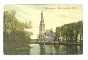 Kobenhavn. Den engelske Kirke. Denmark , 00-10s