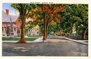 MA - Marion, Cape Cod. Main Street