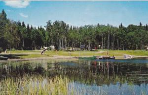 Camping du Lac Blanc, St. Ubalde, County Portneuf (route 363) Quebec, Canada,...