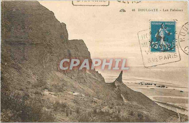 Old Postcard Houlgate Cliffs