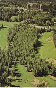 Banff Springs Hotel Golf Club Business Card, BANFF, Alberta, Canada, 40-60's