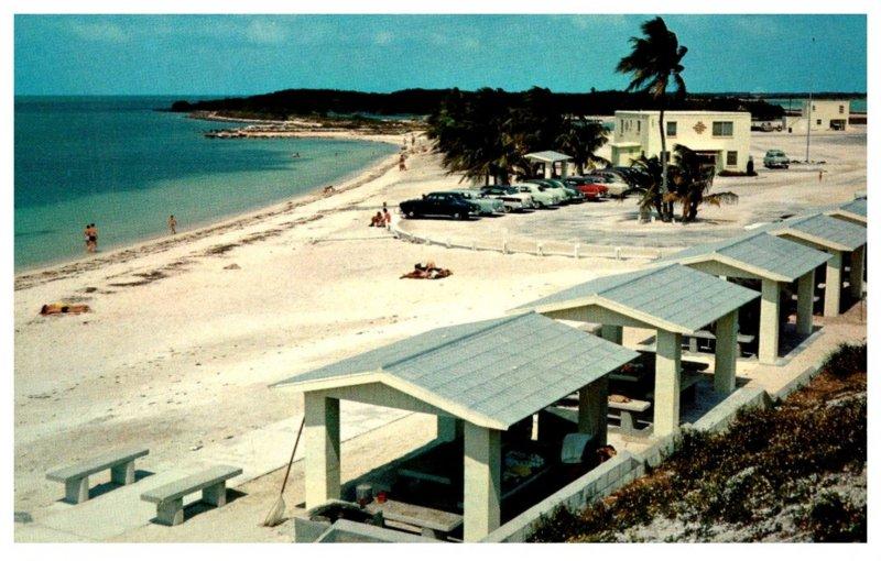 Florida  Wayside Rest at Bahia Honda Bridge on Overseas Highway