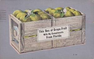 This Box of Grape-Fruit With My Compliments From Florida, PU-1939