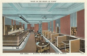 NEW KENSINGTON , Pa. , 1910s ; Hotel Kenmar , Bar Grill