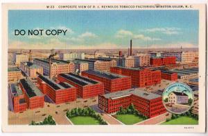 R.J.Reynolds Tobacco Factories, Winston-Salem NC