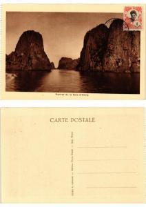 CPA AK Roches de la Baie d'Along VIETNAM INDOCHINE (615249)