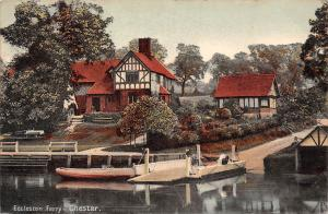 Eccleston Ferry, Chester, boats 1906