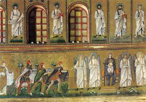Ravenna New S. Apollinaris The virgin and the Wise Men