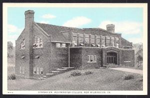 Westminster College Gym New Wilmington PA unused c1915's