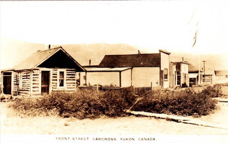 RP; Front Street , Carcross , Yukon , Canada , 20s
