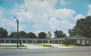 Exterior,Osceola Motel, Ocilla,Georgia,40-60s
