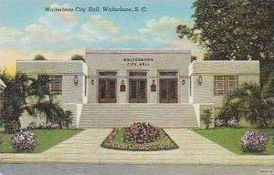 South Carolina Walterboro Walterboro City Hall Curteich