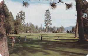 IDAHO, PU-1968; Hayden Lake Golf Course