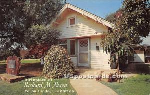 Birthplace of Richard M Nixon