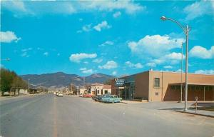 Alamogordo New Mexico~10th Street East~First National Bank~Nice 1950s Cars~PC