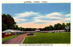 Maryland Betheseda  , Colonial Manor Motel
