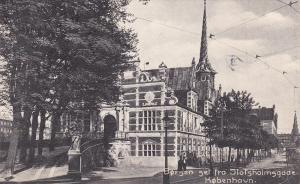 Borsen Set Fra Slotsholmsgade, KOBENHAVN, Denmark, PU-1910