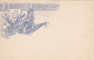 Patriotic Military Unit postcard , Italy , 1900-10s ; Ricordi Della Festa Del...